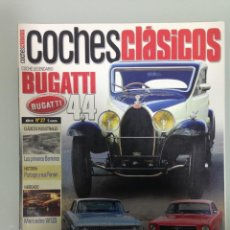 Coches: COCHES CLÁSICOS 27,BUGATTI T-44,ALFONSO DE PORTAGO, BARREIROS, LOS GP OLVIDADOS, MUSTANG, GALAXIE . Lote 195546586