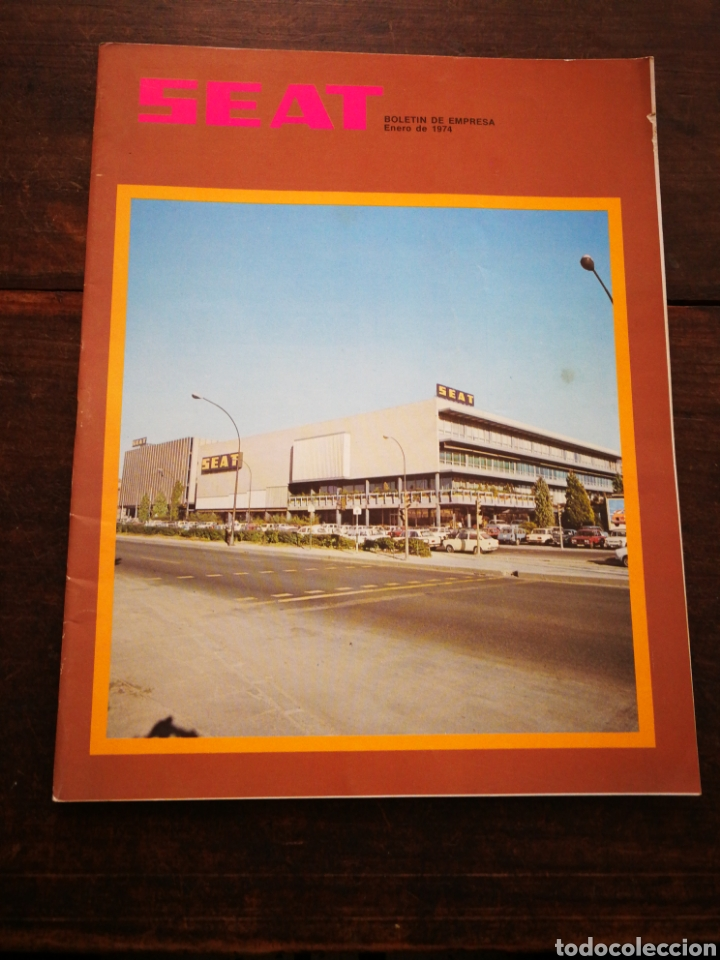 Coches: LOTE REVISTAS SEAT BOLETÍN DE EMPRESA (11 UNIDADES) COMPLETO! , AÑO 1974. - Foto 2 - 195720600