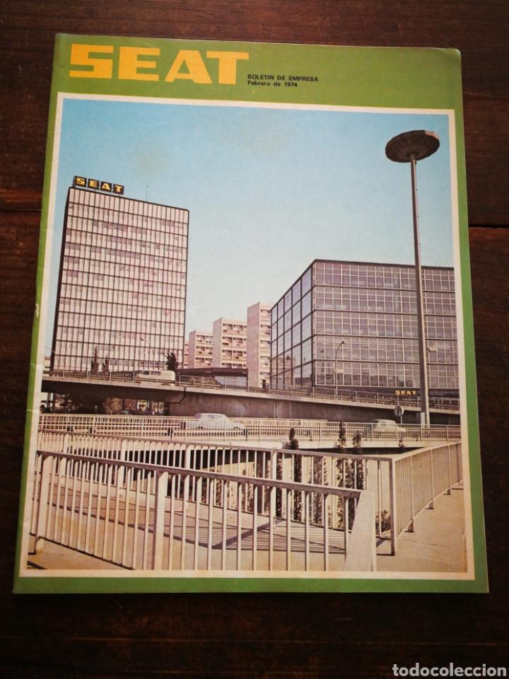 Coches: LOTE REVISTAS SEAT BOLETÍN DE EMPRESA (11 UNIDADES) COMPLETO! , AÑO 1974. - Foto 3 - 195720600