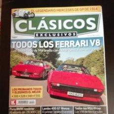 Carros: -REVISTA CLÁSICOS EXCLUSIVOS N 90- FERRARI V8 -NSU -BMW Z8. Lote 196023996
