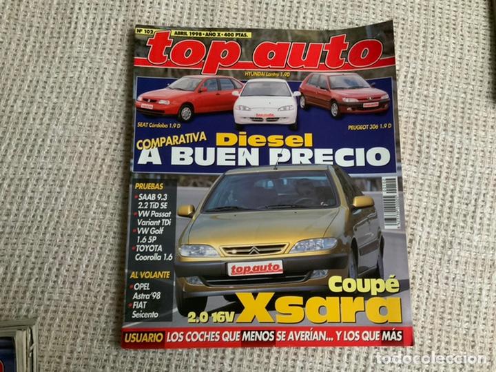 TOP AUTO Nº 102 ABRIL 1998 COUPE 2.0 16V X SARA, SAAB 9.3 2,2 TIDSE, TOYOTA COOROLLA segunda mano