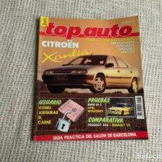 Carros: TOP AUTO Nº 5 MAYO 1993 CITROEN XANTIA BMW M3 PEUGEOT 306 RENAULT 19 DODGE VIPER GTS. Lote 196218730