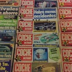 Carros: LOTE DE 17 REVISTAS COCHE ACTUAL. Lote 196539365