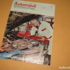 Coches: ANTIGUA REVISTA AUTOMOVIL INTERNACIONAL Nº 11 DE ABRIL DE 1972. Lote 196724587