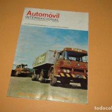 Coches: ANTIGUA REVISTA AUTOMOVIL INTERNACIONAL Nº 11 DE JUNIO DE 1972. Lote 196724696