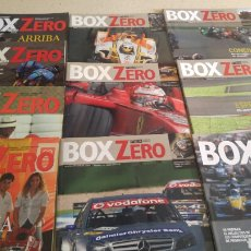Coches: LOTE 10 REVISTAS BOX ZERO. Lote 197091412