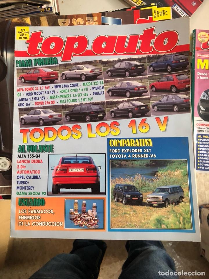 REVISTA TOP AUTO NUM 6 (Coches y Motocicletas Antiguas y Clásicas - Revistas de Coches)