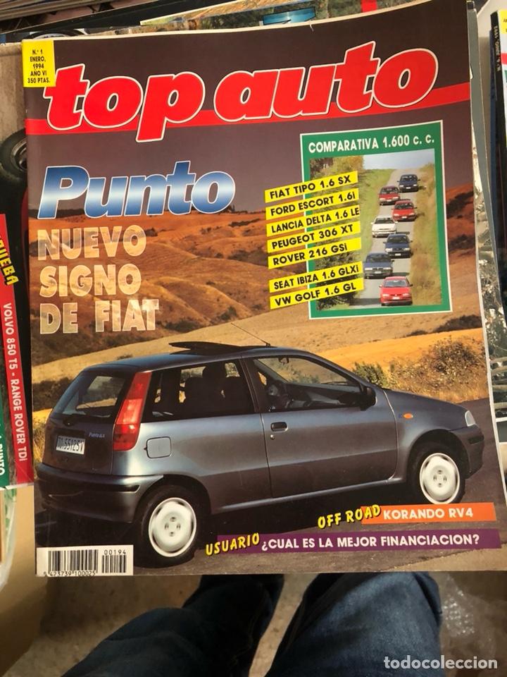 REVISTA TOP AUTO NUM 1 (Coches y Motocicletas Antiguas y Clásicas - Revistas de Coches)