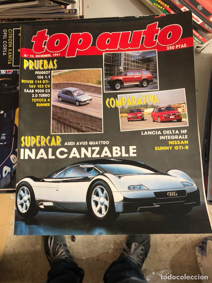 Coches: Revista top auto num 12 - Foto 1 - 197517476