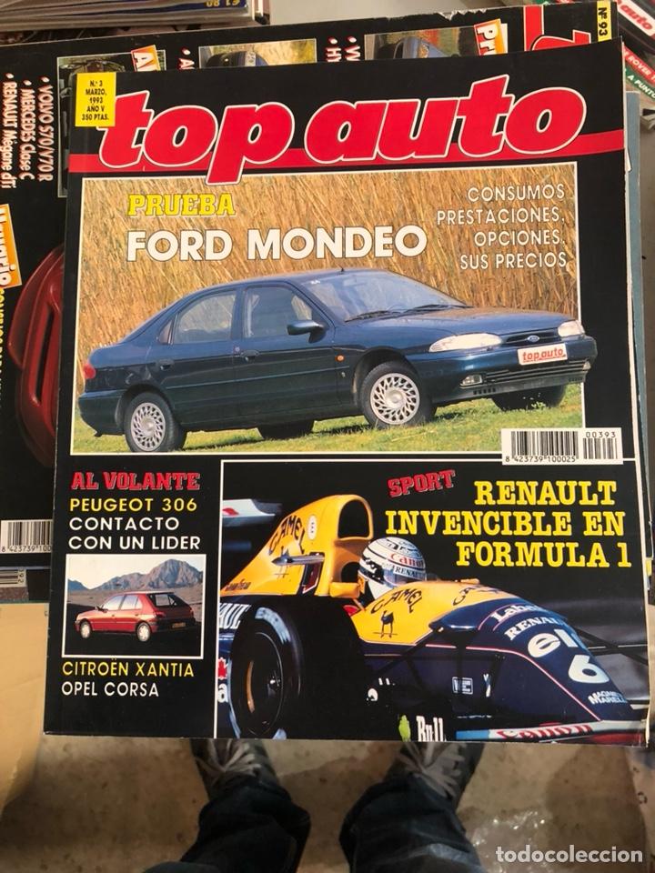 REVISTA TOP AUTO NUM 3 (Coches y Motocicletas Antiguas y Clásicas - Revistas de Coches)