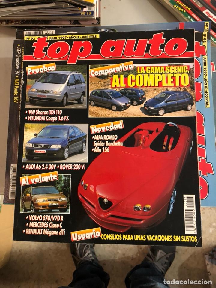 REVISTA TOP AUTO NUM 93 (Coches y Motocicletas Antiguas y Clásicas - Revistas de Coches)