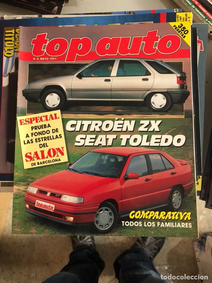 REVISTA TOP AUTO NUM 5 (Coches y Motocicletas Antiguas y Clásicas - Revistas de Coches)