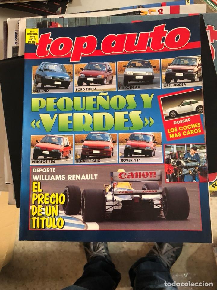 REVISTA TOP AUTO NUM 9 (Coches y Motocicletas Antiguas y Clásicas - Revistas de Coches)