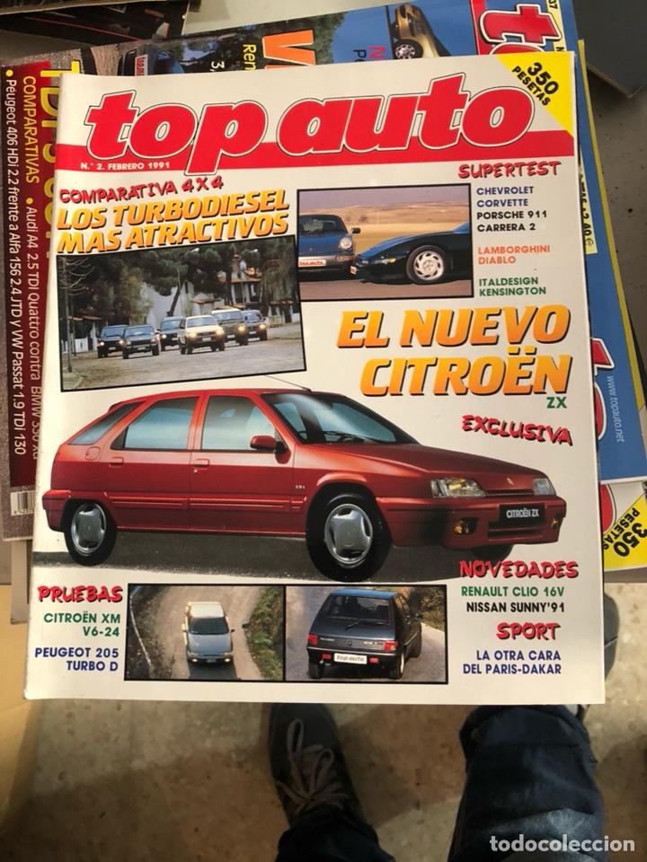 REVISTA TOP AUTO NUM 2 (Coches y Motocicletas Antiguas y Clásicas - Revistas de Coches)