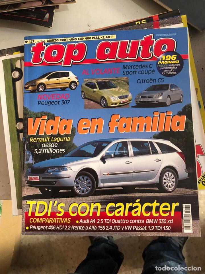 REVISTA TOP AUTO NUM 137 (Coches y Motocicletas Antiguas y Clásicas - Revistas de Coches)