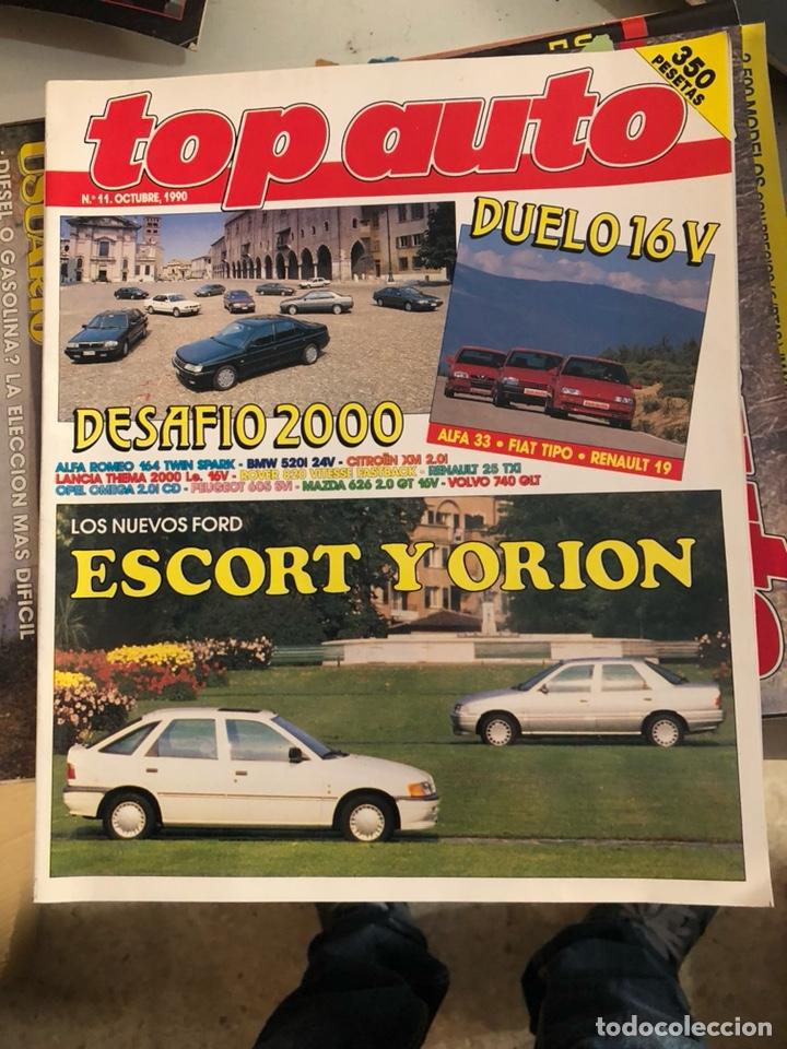 REVISTA TOP AUTO NUM 11 (Coches y Motocicletas Antiguas y Clásicas - Revistas de Coches)