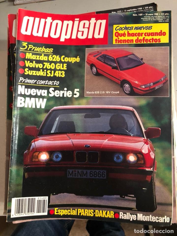 Coches: Revista autopista 1988, 25 números - Foto 2 - 197525240