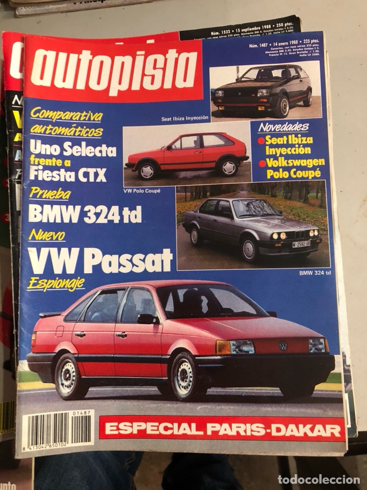 Coches: Revista autopista 1988, 25 números - Foto 4 - 197525240