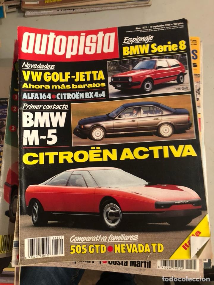 Coches: Revista autopista 1988, 25 números - Foto 5 - 197525240
