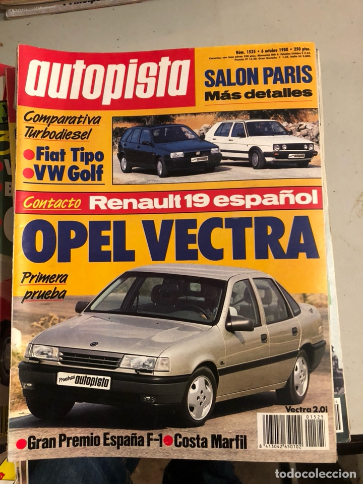 Coches: Revista autopista 1988, 25 números - Foto 6 - 197525240