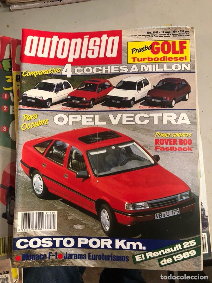 Coches: Revista autopista 1988, 25 números - Foto 7 - 197525240