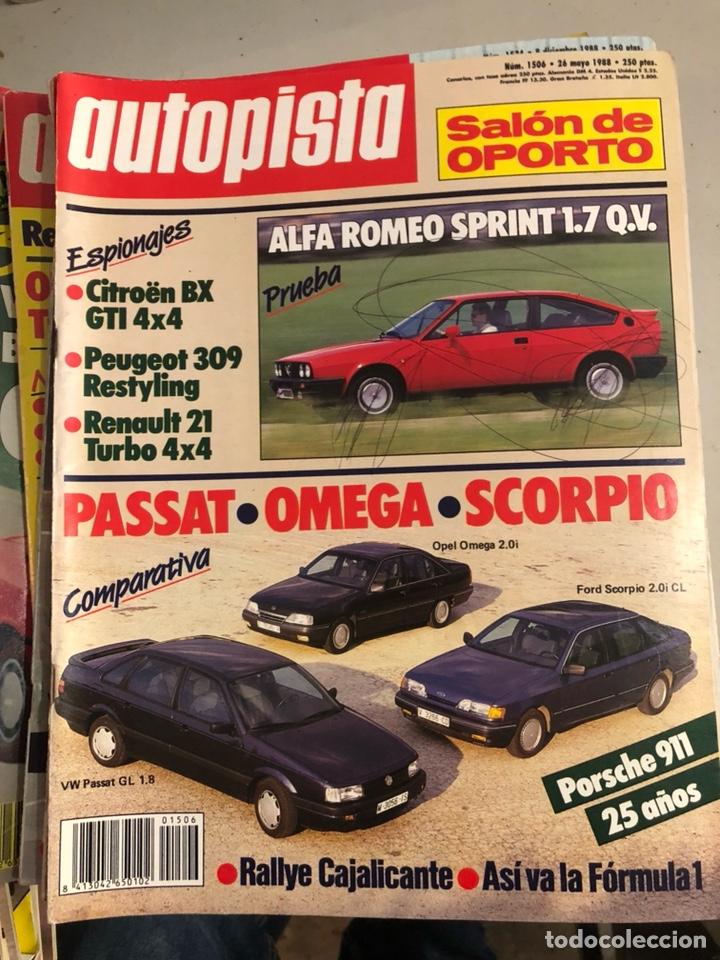 Coches: Revista autopista 1988, 25 números - Foto 8 - 197525240