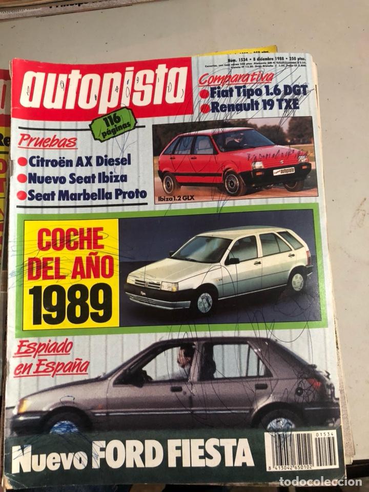 Coches: Revista autopista 1988, 25 números - Foto 9 - 197525240