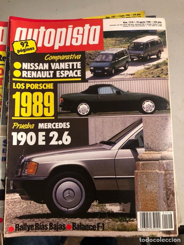 Coches: Revista autopista 1988, 25 números - Foto 10 - 197525240