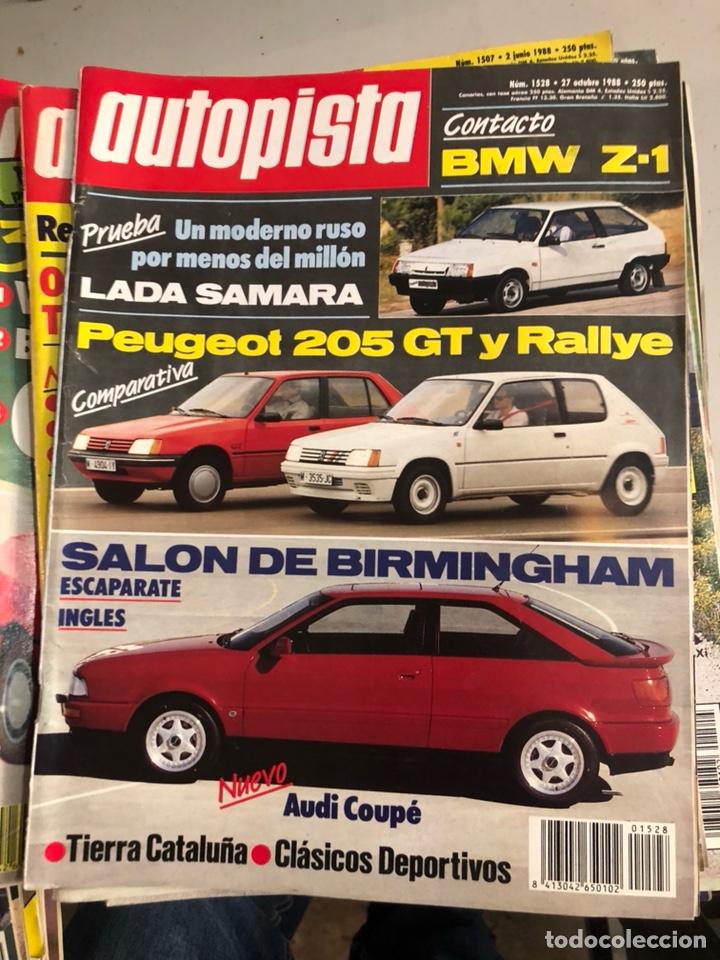 Coches: Revista autopista 1988, 25 números - Foto 11 - 197525240