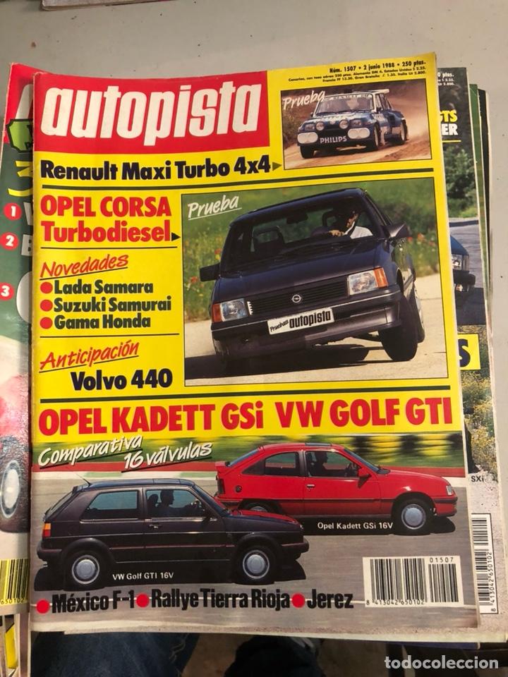 Coches: Revista autopista 1988, 25 números - Foto 12 - 197525240