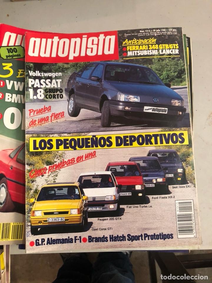 Coches: Revista autopista 1988, 25 números - Foto 13 - 197525240