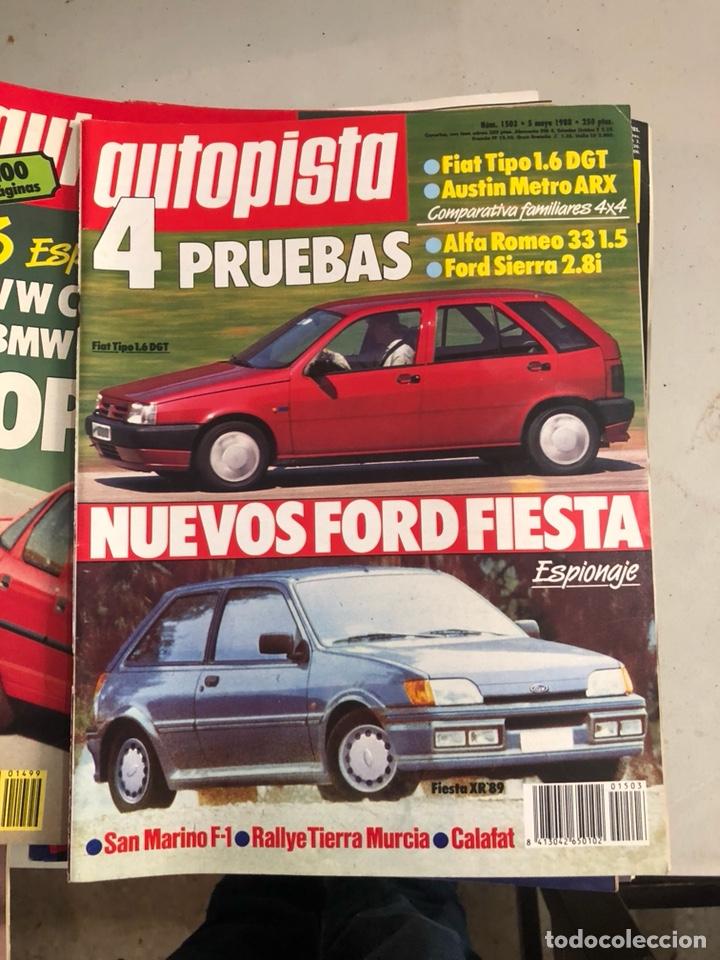 Coches: Revista autopista 1988, 25 números - Foto 14 - 197525240