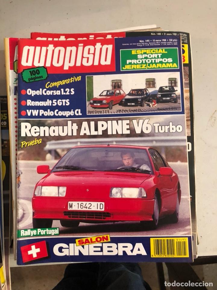 Coches: Revista autopista 1988, 25 números - Foto 17 - 197525240