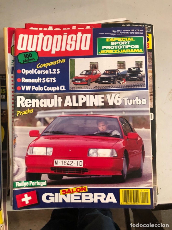 Coches: Revista autopista 1988, 25 números - Foto 18 - 197525240