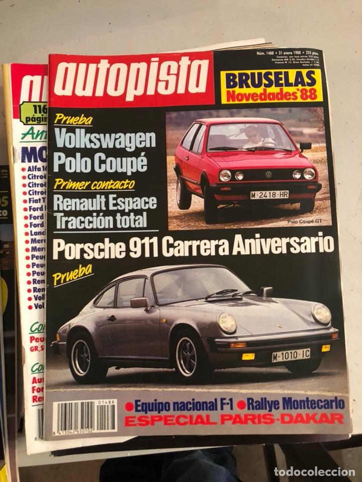 Coches: Revista autopista 1988, 25 números - Foto 19 - 197525240