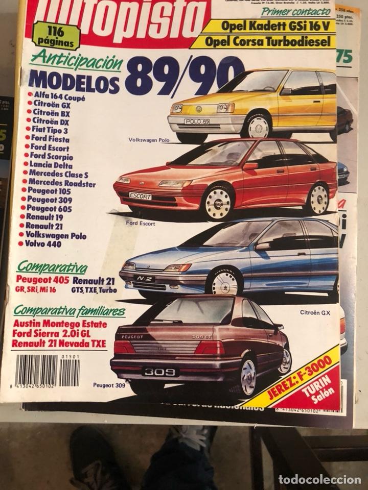 Coches: Revista autopista 1988, 25 números - Foto 20 - 197525240