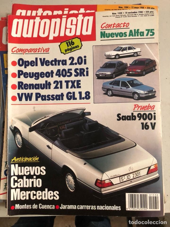 Coches: Revista autopista 1988, 25 números - Foto 21 - 197525240