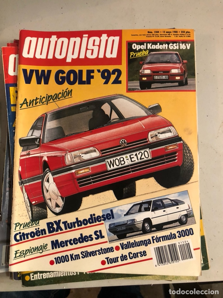 Coches: Revista autopista 1988, 25 números - Foto 22 - 197525240