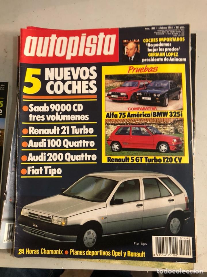Coches: Revista autopista 1988, 25 números - Foto 24 - 197525240
