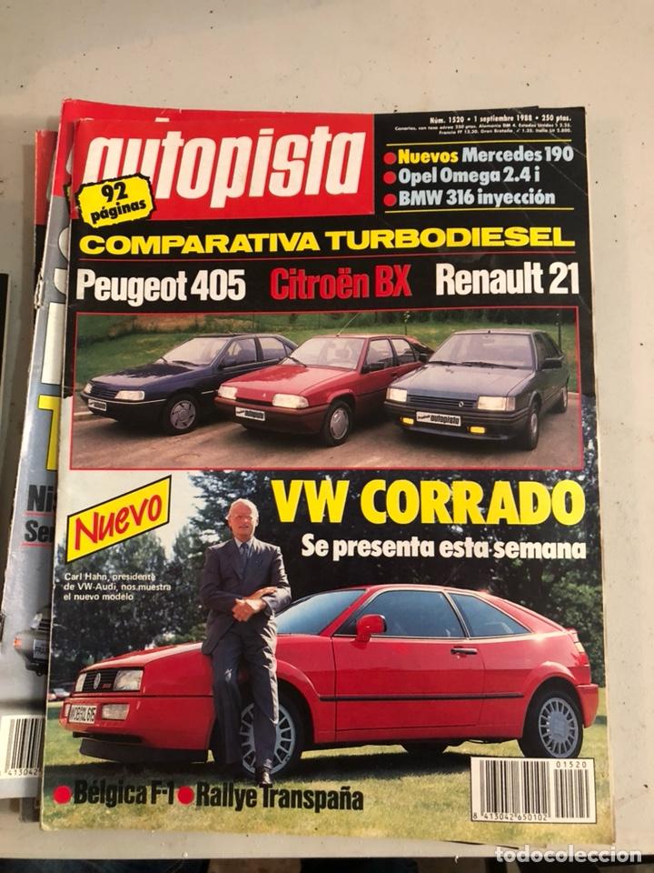 Coches: Revista autopista 1988, 25 números - Foto 25 - 197525240