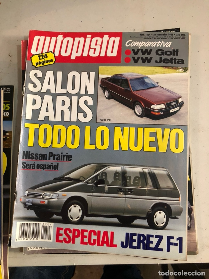 Coches: Revista autopista 1988, 25 números - Foto 26 - 197525240