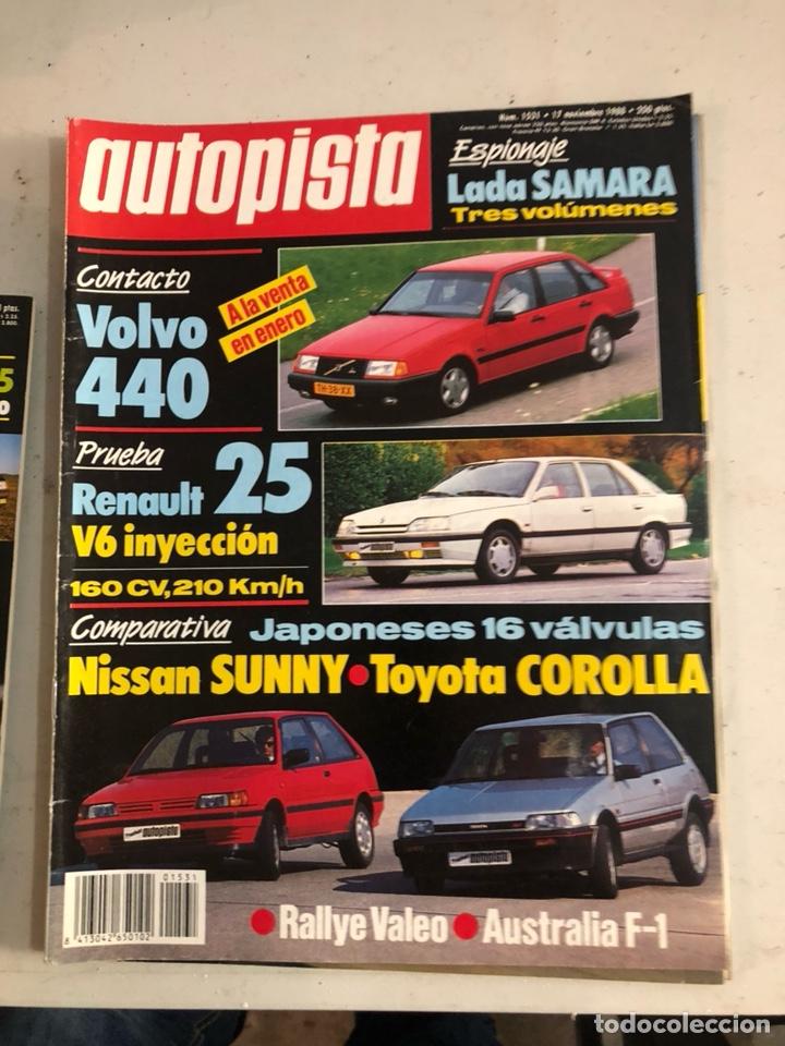 Coches: Revista autopista 1988, 25 números - Foto 27 - 197525240