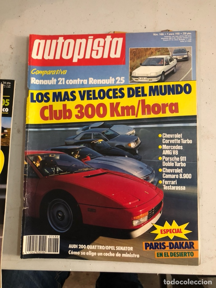 Coches: Revista autopista 1988, 25 números - Foto 28 - 197525240