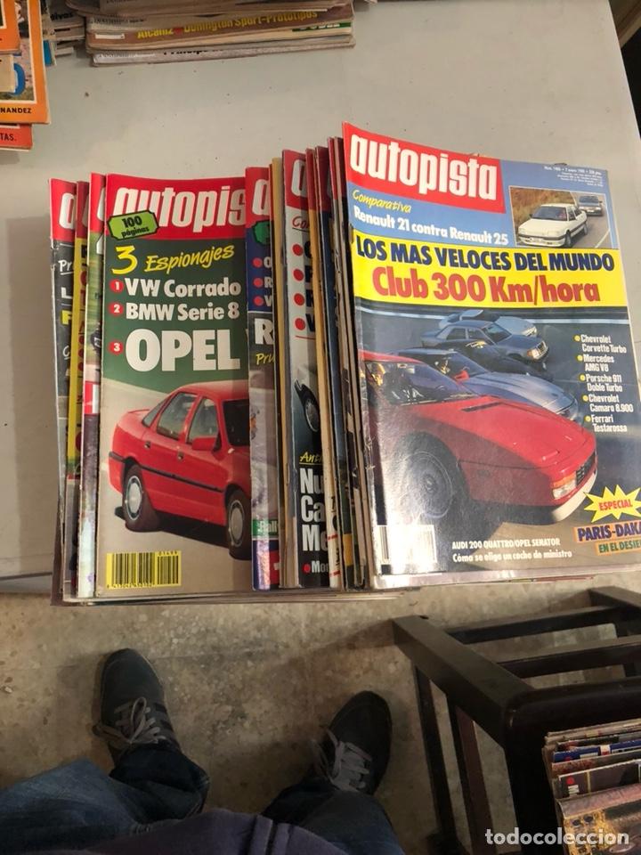 REVISTA AUTOPISTA 1988, 25 NÚMEROS (Coches y Motocicletas Antiguas y Clásicas - Revistas de Coches)