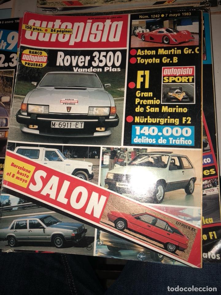 Coches: Revista autopista año 1983, 13 revistas - Foto 2 - 197564311