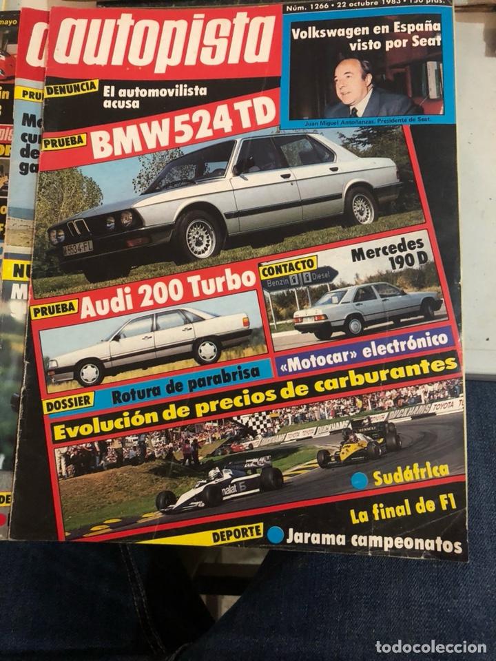 Coches: Revista autopista año 1983, 13 revistas - Foto 3 - 197564311