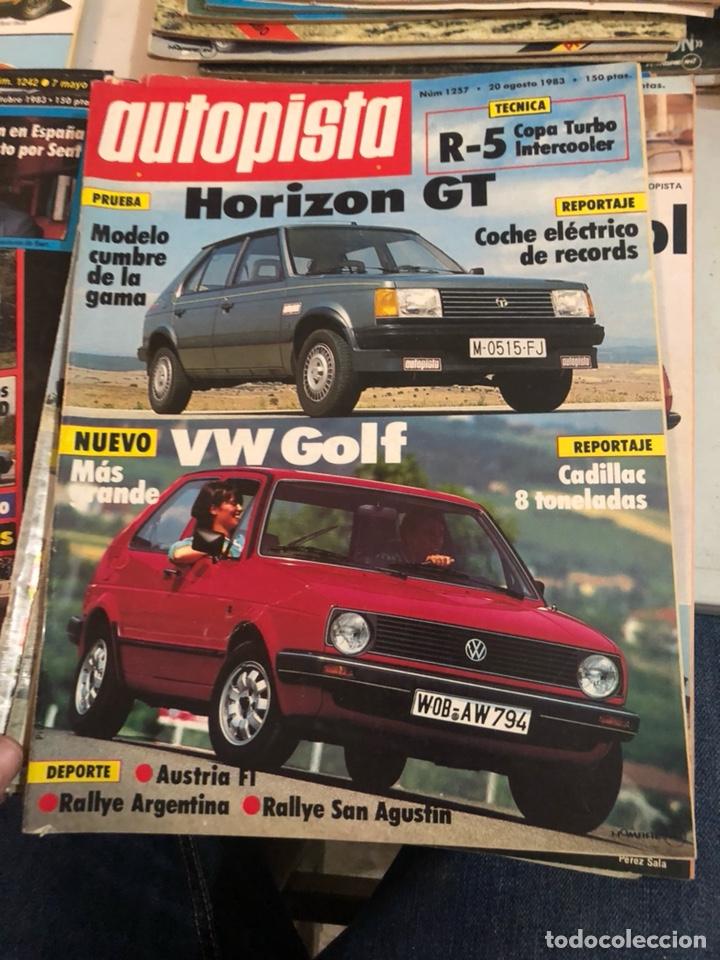 Coches: Revista autopista año 1983, 13 revistas - Foto 4 - 197564311