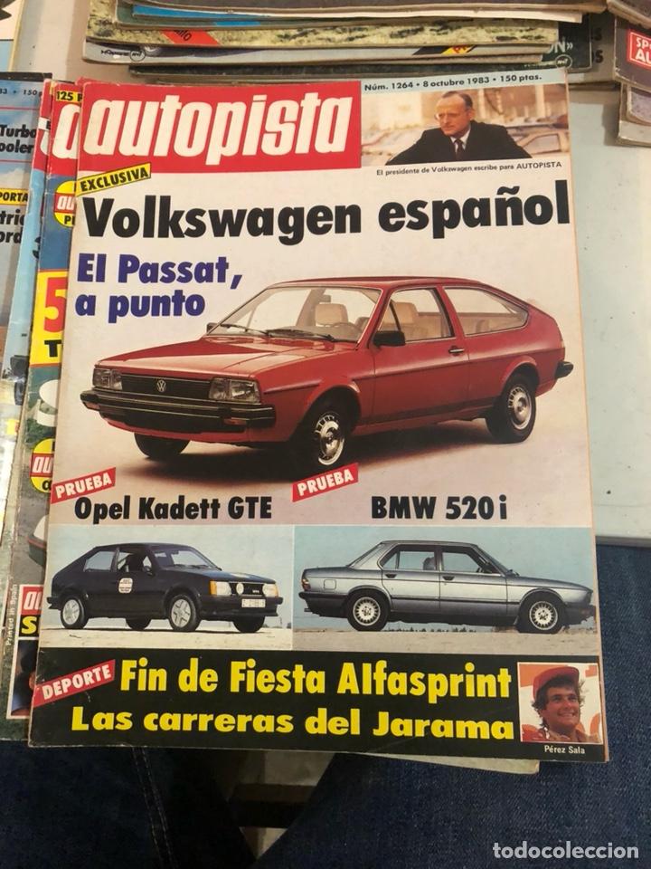 Coches: Revista autopista año 1983, 13 revistas - Foto 5 - 197564311