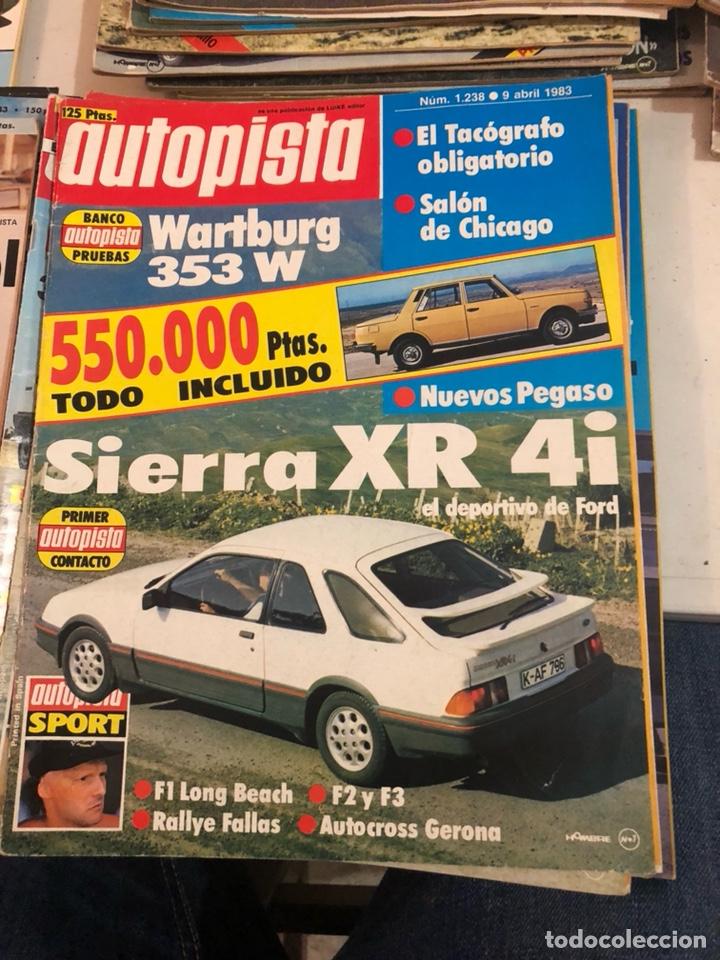 Coches: Revista autopista año 1983, 13 revistas - Foto 6 - 197564311
