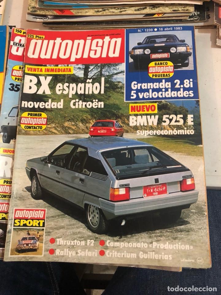 Coches: Revista autopista año 1983, 13 revistas - Foto 7 - 197564311